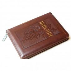055zti Библия, цвет: коричневый с виноградом (11544)