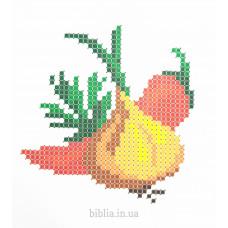 """Набір для вишивання бісером """"Овочі"""" (499)"""