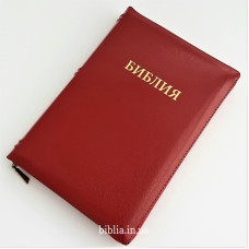 "077zti Библия кожа (11970) цвет ""феррари"", индексы, замок"