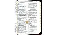 """055ztig Біблія колір """"золотий пісок"""" (10554)"""