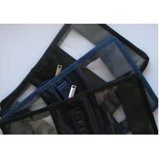 043 Обложка-сумка прозрачная пленка (8025)