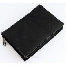 Обложка на Библию 043 (8019) кожа черная