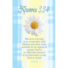 Наклейка: Милость и истина да не оставляют тебя... (S 08)