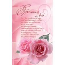 Наклейка: Бог, богатый милостью... (S 24)